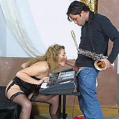 Hardcore porn.