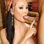 Oriental milf bald vagina.